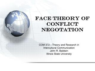 Face Theory of Conflict Negotation