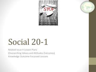 Social 20-1