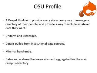 OSU Profile