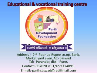 Educational & vocational training centre