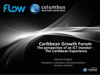 Caribbean Growth  Forum The perspective of an ICT Investor -  The Caribbean Experience