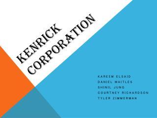 Kenrick Corporation