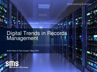 Digital Trends in Records Management
