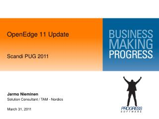 OpenEdge 11 Update