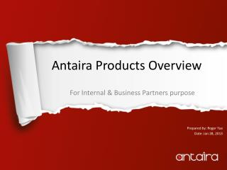 Antaira Products Overview