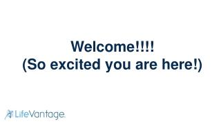 Welcome!!!! (So excited you are here!)