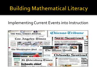 Building Mathematical Literacy