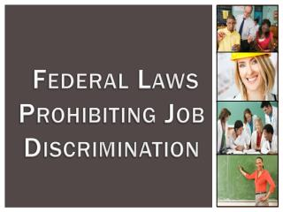 Federal Laws Prohibiting Job Discrimination