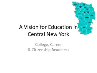 A Vision for Education in Central New York