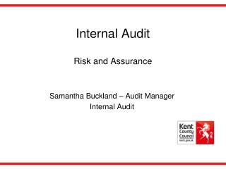 Internal Audit  Risk and Assurance