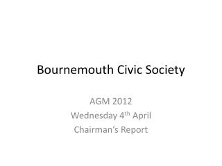 Bournemouth Civic Society
