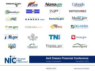AeA  Classic Financial Conference Investor Presentation                                 November 8, 2010