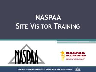 NASPAA  Site Visitor Training