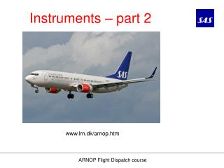 Instruments – part 2