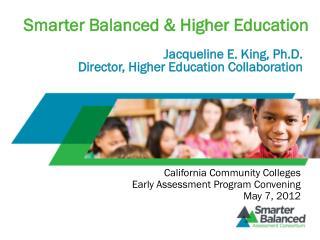 Smarter Balanced & Higher Education