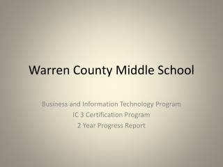 Warren County Middle School