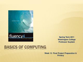 Basics of Computing