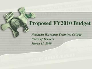 Proposed FY2010 Budget
