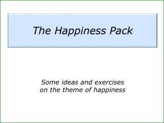 The Happiness Pack