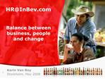 hrinbev     balance between business, people and change