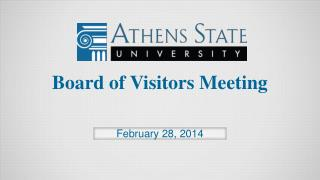 Board of Visitors Meeting
