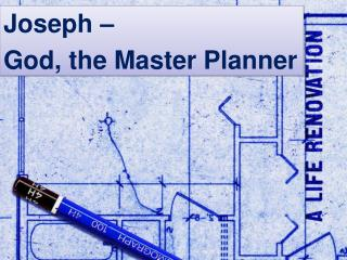 God the Great Planner