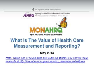 What Is The Value of Health Care  Measurement and Reporting?