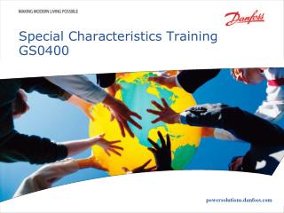 Special Characteristics Training GS0400