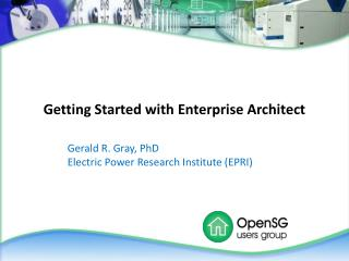 Getting Started with Enterprise Architect