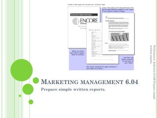 Marketing management 6.04