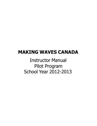 MAKING WAVES CANADA