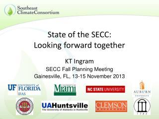 State of the SECC: Looking forward together