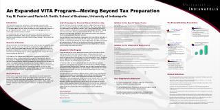 An Expanded VITA Program—Moving Beyond Tax Preparation Kay M. Poston and Rachel A. Smith, School of Business, University