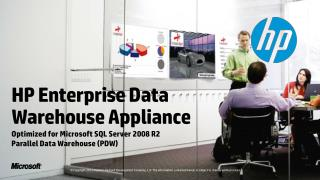 HP Enterprise Data Warehouse Appliance