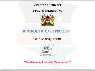 MINISTRY OF FINANCE IFMIS RE-ENGINEERING