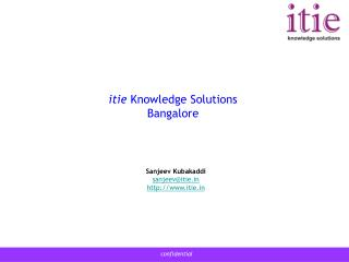 itie  Knowledge Solutions Bangalore