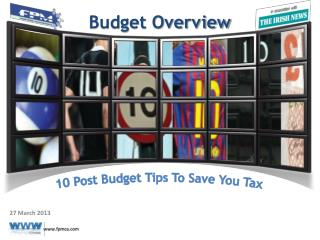 10 Post Budget Tips To Save You Tax