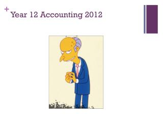 Year 12 Accounting 2012