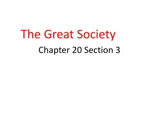 Chapter 20 Section 3