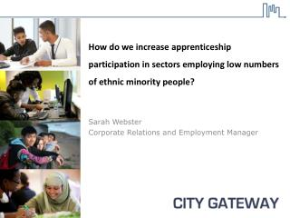 How do  we increase apprenticeship participation in sectors employing low numbers of ethnic minority people?