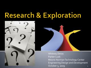 Research & Exploration