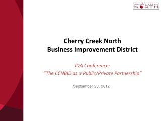 Cherry Creek North  Business Improvement District