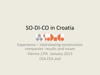 SO-DI-CO  in  Croatia