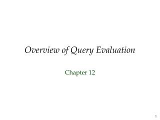 alternative evaluation  selection