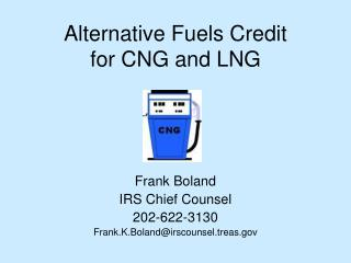 alternative fuels credit for cng and lng