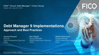 Debt Manager 9 Implementations