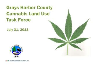 Grays Harbor County Cannabis Land Use Task Force