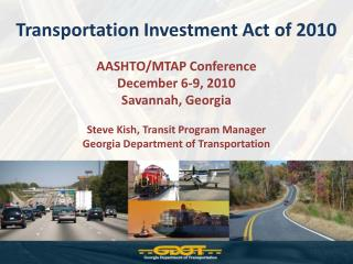 Transportation Investment Act of 2010