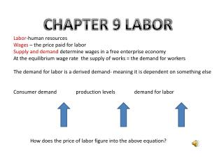 CHAPTER 9 LABOR