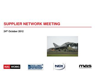 Supplier Network Meeting